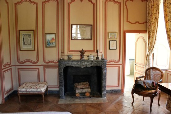 Chateau de Pont-Rilly: Room