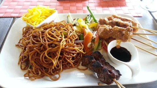 Jakarta Going: kleine sateschotel