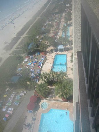 Palms Towers From 12th Floor Balcony