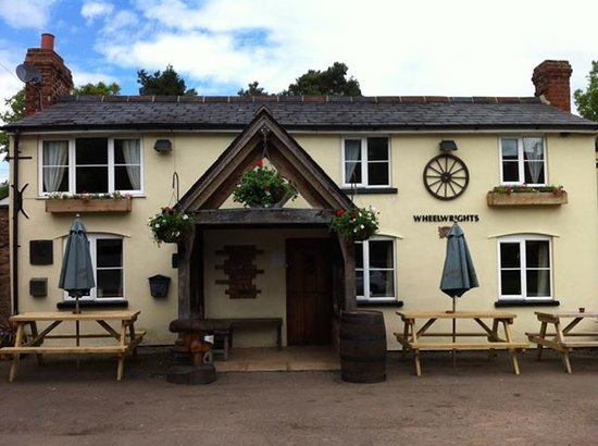 Pencombe, UK : The Wheelwrights Arms, Pencome, Bromyard