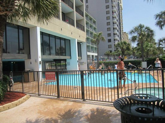 The Palms Tower Pool Picture Of