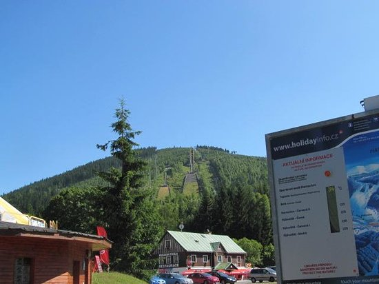 Pension Pavel Ploc: At the base of the mountain