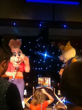 Martello Beach Holiday Park - Park Resorts : what a show by sparky and sparkle