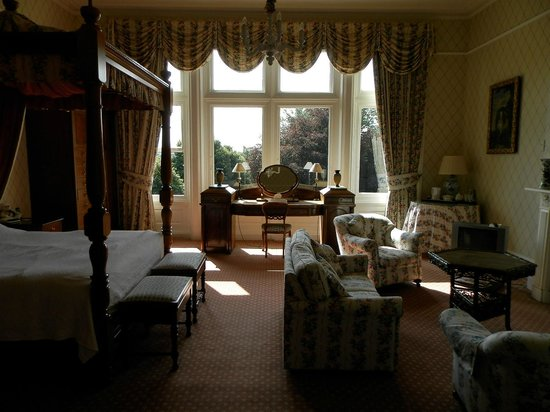 Tillmouth Park Country House Hotel: Our bedroom/suite