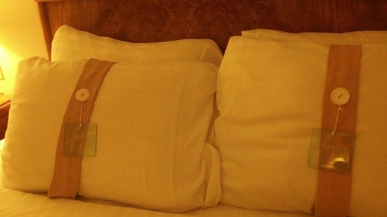 "Holiday Inn Niagara Falls - By The Falls: Pillows both ""soft"" and ""firm"" were placed on each bed. Nice touch."