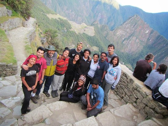 Valencia Travel - Day Tours: We at Machu Picchu