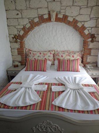 Aleysim Hotel : Schlafzimmer