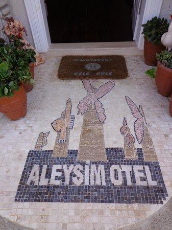 Aleysim Hotel : Eingang