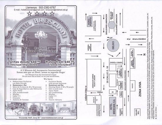 Hotel Bresciani: TARIFA MENSUAL DESDE $40.00