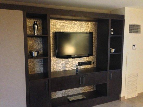 Hyatt Regency Greenwich: Bedroom TV