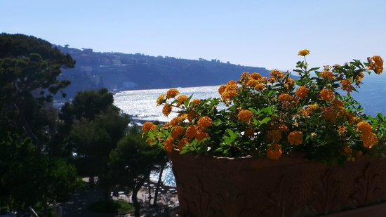Grand Hotel Ambasciatori: View overlooking the bay from room 709