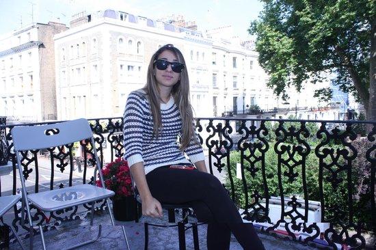 Kensington Court Hotel Notting Hill: balcone