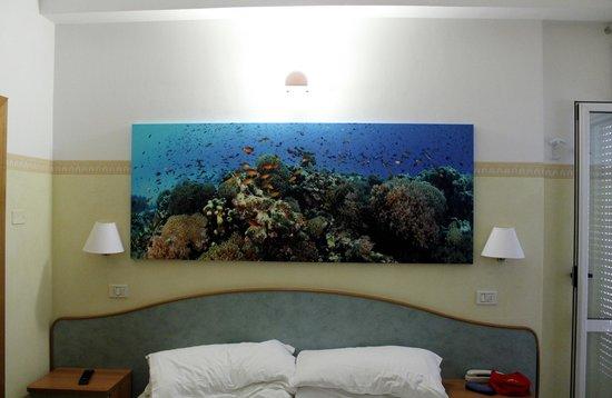 Hotel Acquario: Particolare della nostra stanza (stupendo) !