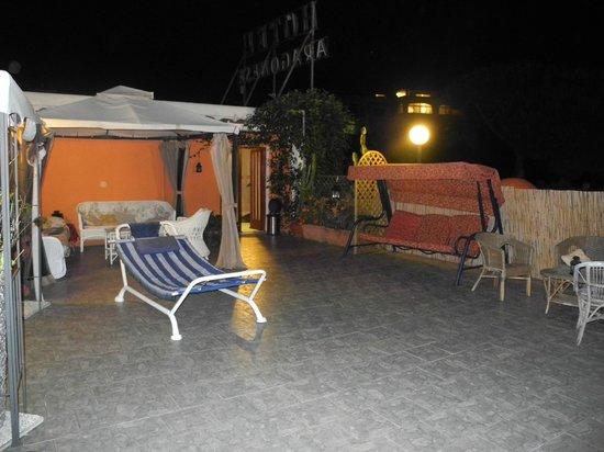 Aragonese : Dachterrasse