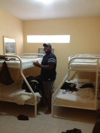 Mont Caribe Guesthouse 2nd Bedroom 2 Bunk Beds With Full Size Bed On