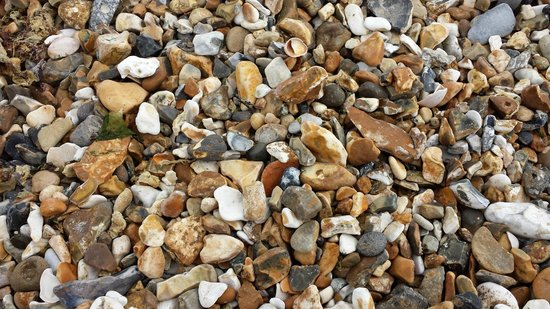 Mudeford Quay: count the stones if bored