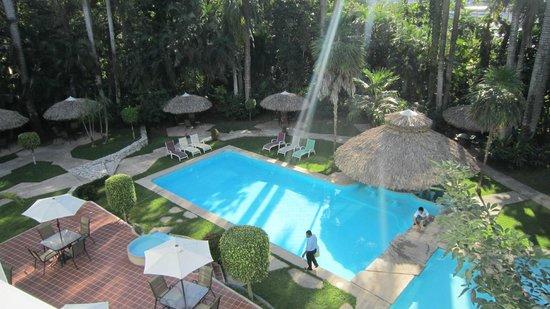 Hotel Maya Palenque: vu de la chambre