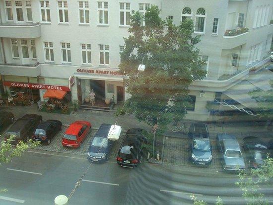 Citadines Kurfuerstendamm Berlin: View out the Window