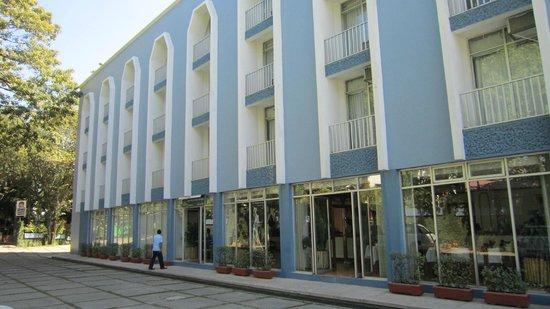 Hotel Maya Palenque : Parking
