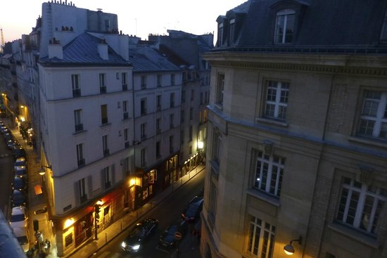 Hôtel Trianon Rive Gauche : View from our window