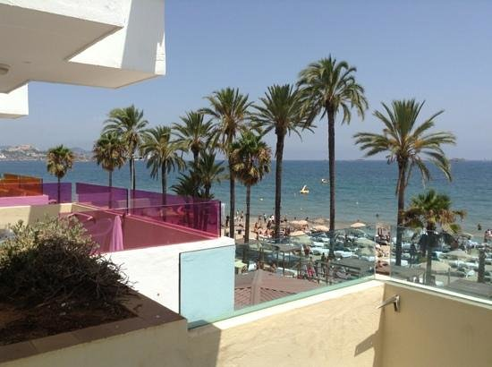 Ibiza Jet Apartments: sea view