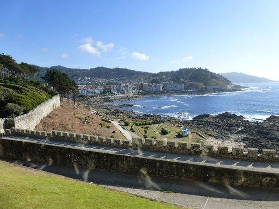 Parador de Baiona: View from my view