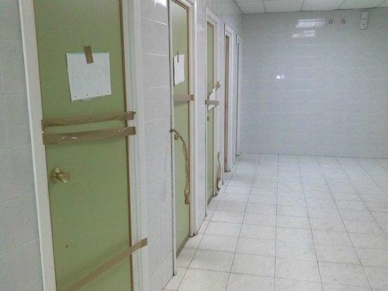 Hotel Cadosa : baño del restaurante