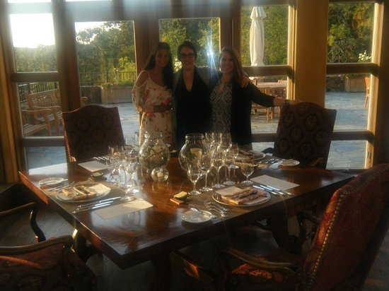 Chalk Hill Winery: private dinner