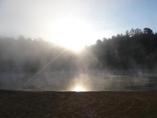 Cascade Lake Recreation Area: Sunrise at Little Lake