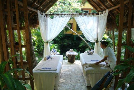 Iberostar Quetzal Playacar: Massaggi nella foresta