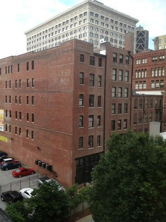 The Hotel Majestic St. Louis: View from Rm 501
