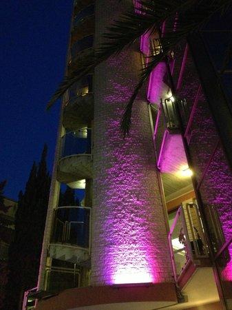 Hotel Doge: l'hotel e i giochi di luce