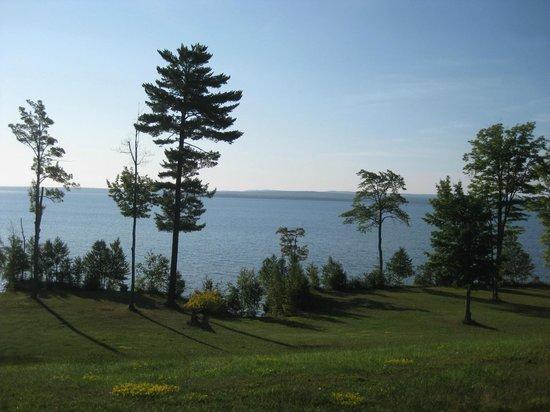 LaRose Wellness Retreat: View of Keweenaw Bay