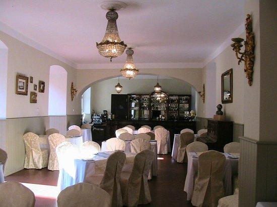 Chateau Hostacov: Ресторан