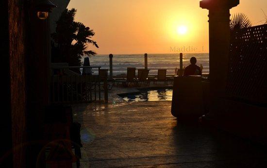 Blue Sea Beach Hotel : Sunset ft. The Blue Sea Lodge