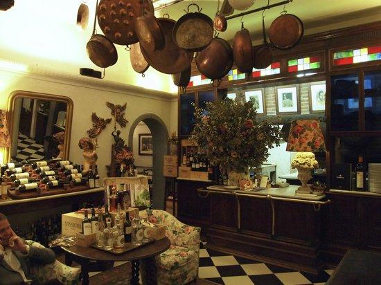 """Osteria del Sole: """"Receptionen"""""""