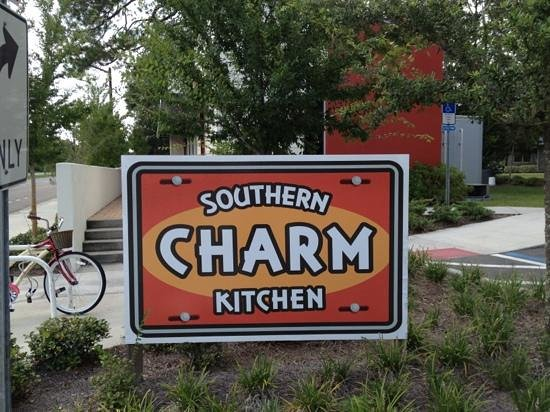 Southern Charm Kitchen : sign