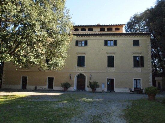 Tenuta Quarrata: Huvudbyggnaden