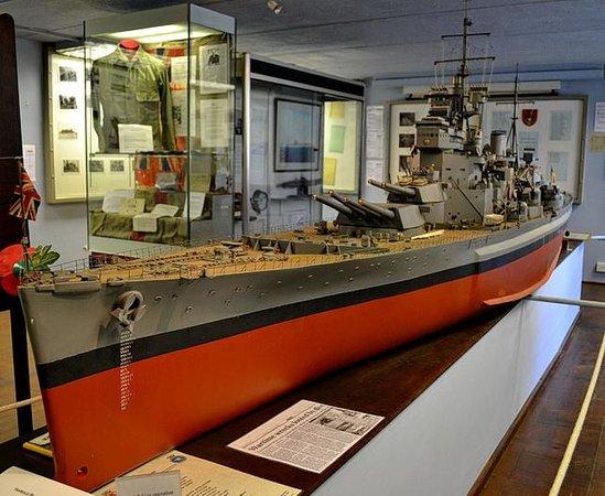 Fort Perch Rock: model of the Bismark
