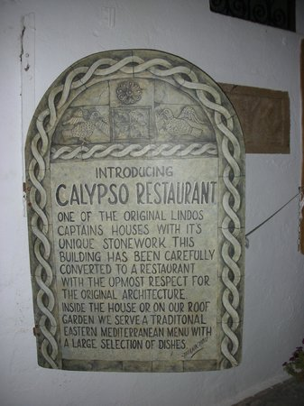 Kalypso Restaurant : Targa