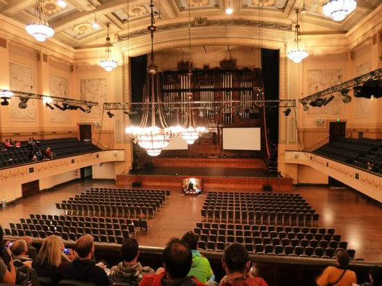 melbourne town hall grand hall