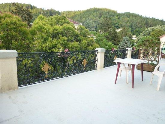 Saint Jean : La terrasse
