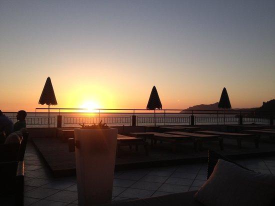 Mayor La Grotta Verde Grand Resort: View from roof bar