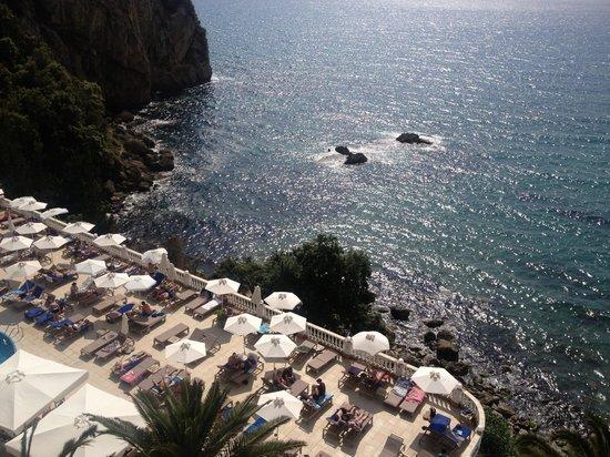 Mayor La Grotta Verde Grand Resort: Pool from room