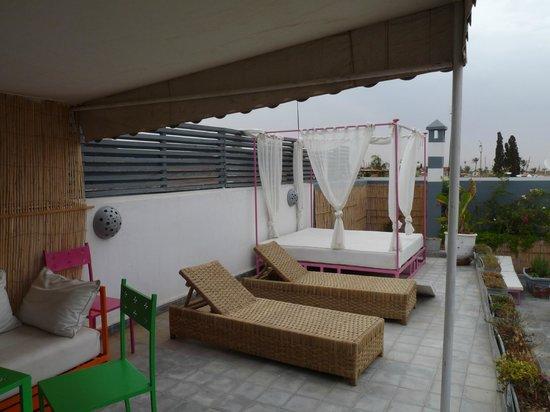 Riad Origines : sur le toit