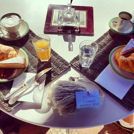 Castello di San Fabiano: colazione