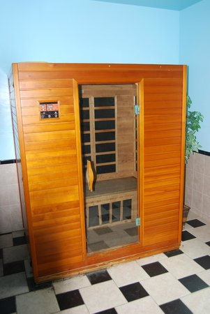 Clarion Inn & Suites Atlantic City North: sauna Clarion Absecon