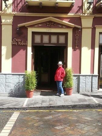 Casa San Rafael: Front Entrance