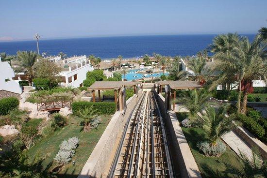 Hilton Sharm Waterfalls Resort : les piscines