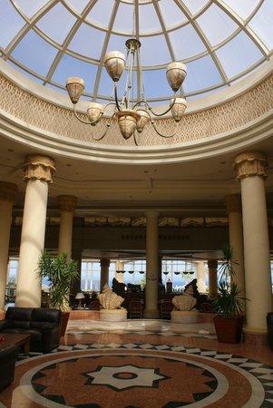 Hilton Sharm Waterfalls Resort : la réception